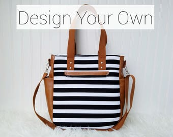 Design Your Own-  3-in-1 Convertible Backpack Diaper Bag