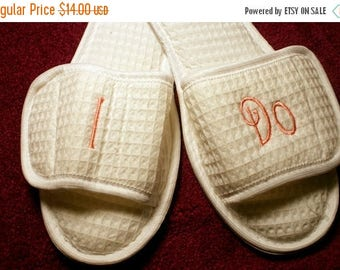 Christmas In July Slippers - I Do Slippers - Brides I Do Slippers - Bride Slippers - Personalized Bridal Slippers - House Shoes - Monogramme