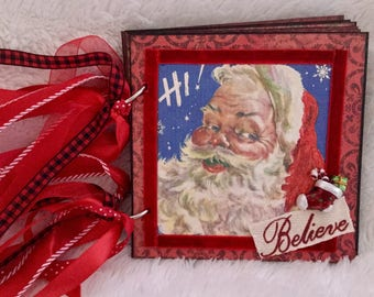 Vintage Christmas Album - Believe # 678