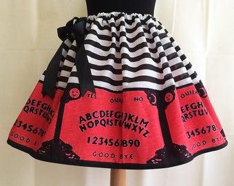 Womens Halloween Costume, Ouija Board Costume, Skirt, ROOBY LANE