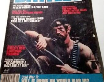 Battles Magazine War Number 5 Issue June 1980