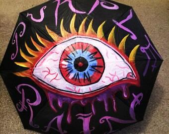 purple rain umbrella