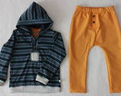 Boy clothes, boy clothing, boy clothes 3t, boy outfit, boy hoodie, boys joggers, boy clothing set, sustainable clothing, made in Italy, fast