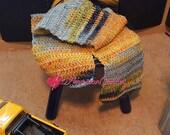 Kids Big Boy Scarf Crochet Pattern