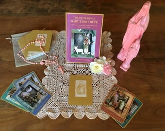 Mysteries of Mary Tarot Deck and Book Set
