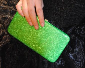 Glitter wallet! -Green