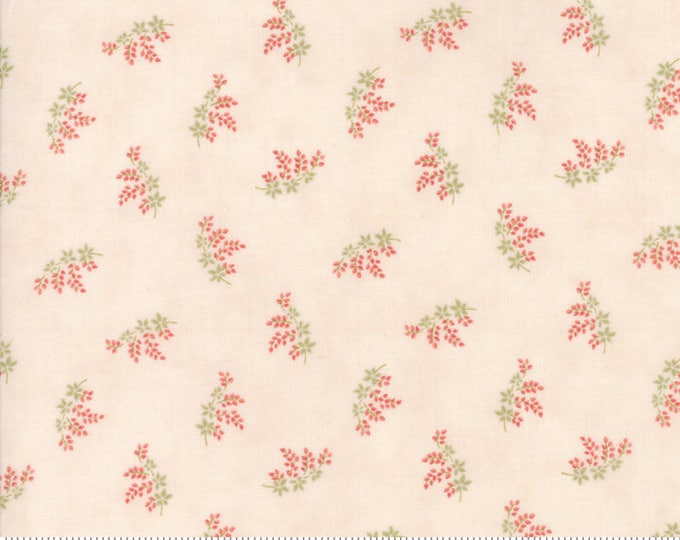 Victoria Pink Ribbon 44166 11 by 3 Sisters for moda fabrics