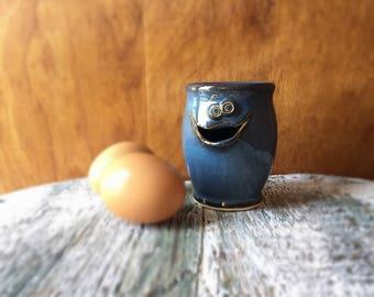 Egg Separator Kitchen Tool Handmade Artist Ceramic Pottery