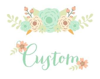 Custom Listing for Reception759