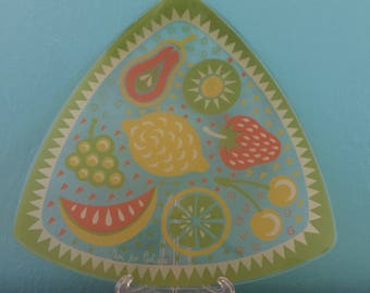 Super Cute Triangle Shaped Serving Platter Fruit Tray