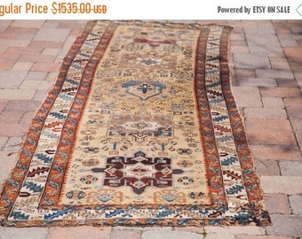 10% OFF RUGS DISCOUNTED 3x11 Antique Persian Rug Runner