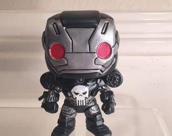 Custom Funko Pop War Machine Punisher.