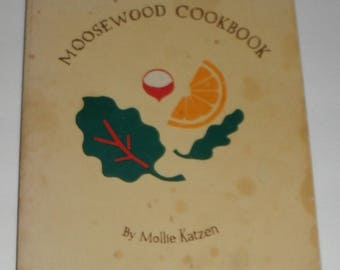 Moosewood Cookbook by Mollie Katzen vintage softcover book