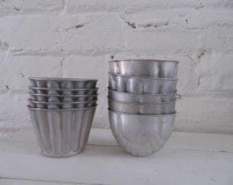 Vintage Jello Molds/Tins