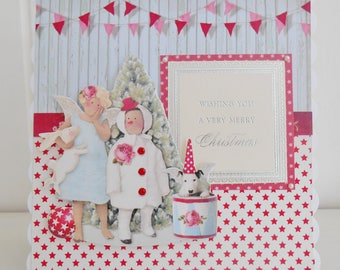 Cottage Chic Christmas Card