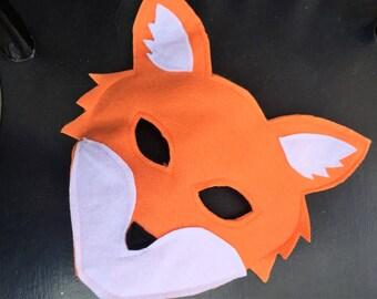 fox mask woodland birthday fox themed mask swiper costume woodland costumes - Swiper Halloween Costume