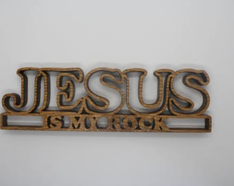 Christianity - Words on Wood - Religious Signs - Bible Verse Signs - Jesus Christ - Christian Signs - Church Decor - Scripture Signs