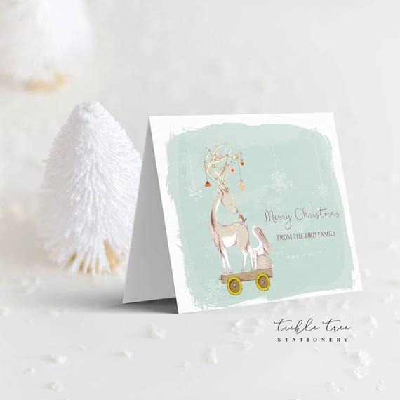 Christmas Greeting Cards - Deer Friend