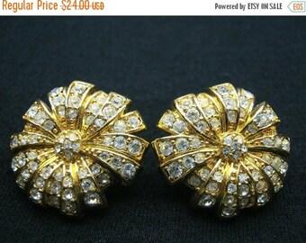 Now On Sale Vintage Monet Rhinestone Earrings Mad Men Mod Hollywood Regency Mid Century Modern Jewelry