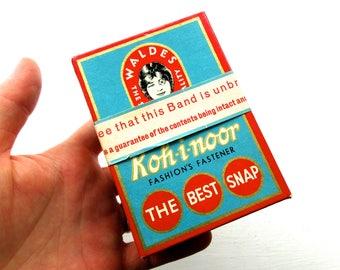 Vintage Sealed Koh-i-noor Fastener Snaps in Original Packaging