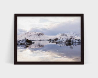 Frozen Loch - Original Photographic Print