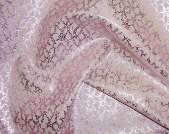 Leather 7 or 8 or 9 or 10 sq ft PINK Kawaii BUBBLES Pattern on Flesh Pink Cowhide 2-2.5oz /0.8-1 mm PeggySueAlso™ E6600-01