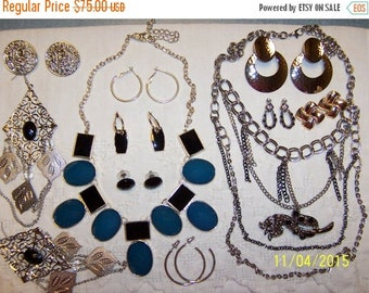 TWICE A YEAR, 25% Off Vintage Jewelry (Lot 119). Big and medium.