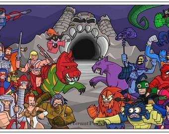 The Masters of the Universe.