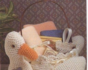 Crochet Pattern Crochet Basket Pattern Goose Basket Pattern