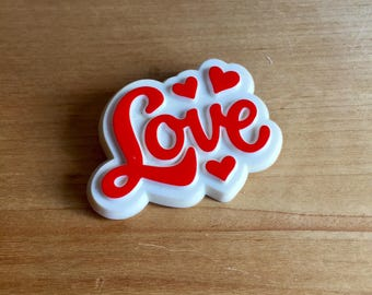 Vintage 70's Hallmark Cards Pin / Valentine Love Pinback