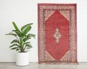 SANJAR 4x7 Hand Knotted Persian Wool Rug