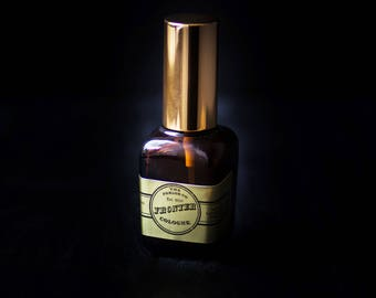 Frontier Mens Cologne - Old Fashioned Amber Bottle - The Parlor Co - 1 oz