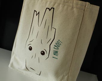 I AM GROOT Tote Bag