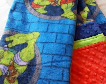 SALE!  Mutant Ninja Turtles I - Baby/Toddler Blanket