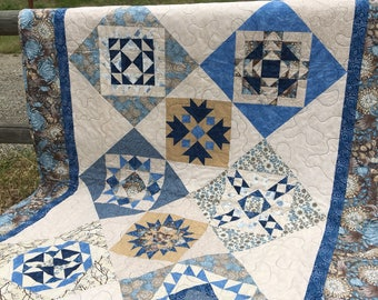 Throw Quilt, Picnic Quilt, Toddler Quilt