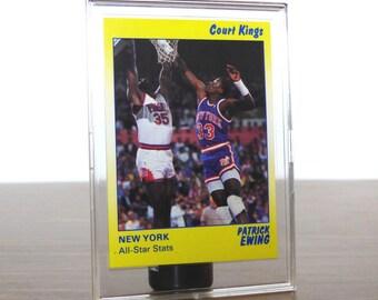 1990 Patrick Ewing Star Co. Card Basketball NBA New York Knicks 39