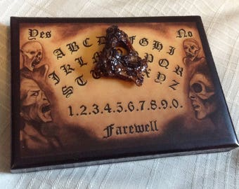 Ouija Board / micro miniature Ouija Board / ONLY 2 Available! / 20 dollars each plus shipping