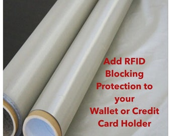 RFID, Build Your Own Wallet, RFID Wallet, RFID Protection, Wallets, Credit Card Holders