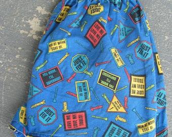 Mens VTG 80s/90s Tools Boxer Shorts Size M