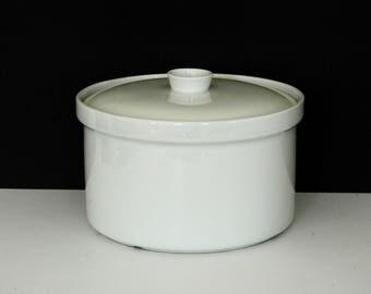 White Arabia of Finland Ceramic Casserole- Kaj Franck