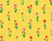 Windham - Meriwether by Amy Gibson - Folk Fleur - Yellow