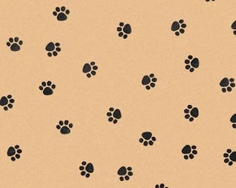 "Tissue Paper 24 sheets Paw Print    DIY  Wedding Decor Craft Supplies  20"" X 30"" Gift Wrap, Favor Box Tissue,"