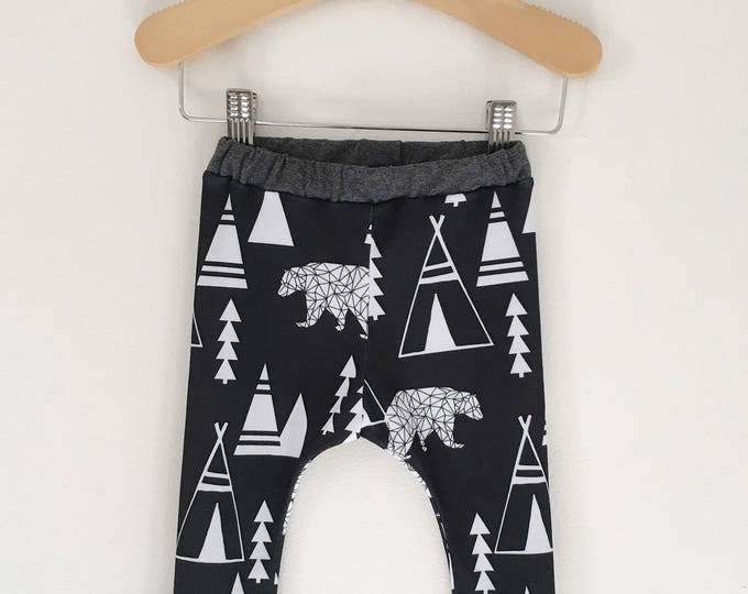 Bear and the Forest Baby and Toddler Pants