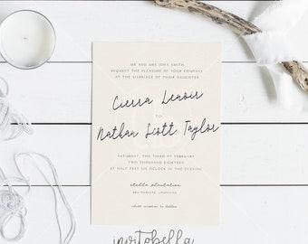 Cierra Modern Invitation