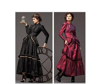 Simplicity 2207 Haunt Couture Dress Size 6-12-uncut