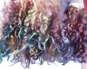 Hope Jacare - 30g lovely hand dyed shorter Masham locks - felt making ML80