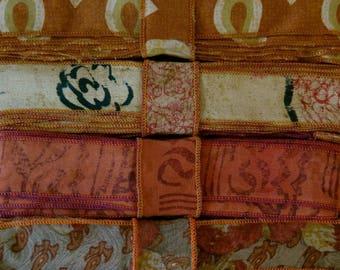 12 Yards of Silk Trim, 4 colors, C111