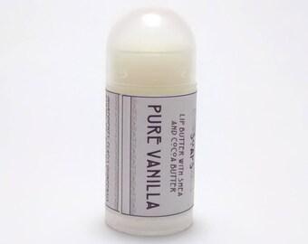 Pure Vanilla - Mini Lip Balm with Shea Butter and Cocoa Butter
