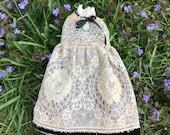 Exquisite Antique Rose Lace Blythe Dress
