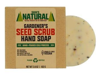 Gardener's Seed Scrub Hand Soap - Gifts - Natural, Vegan + Cruelty-Free